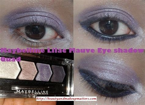 Eyeshadow Maybelline Glow maybelline glow eyeshadow lilac mauve review