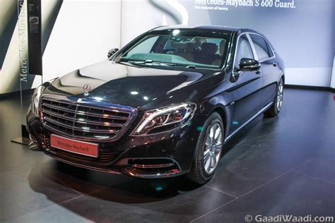 maybach guard mercedes maybach s600 guard india launch on 8th march
