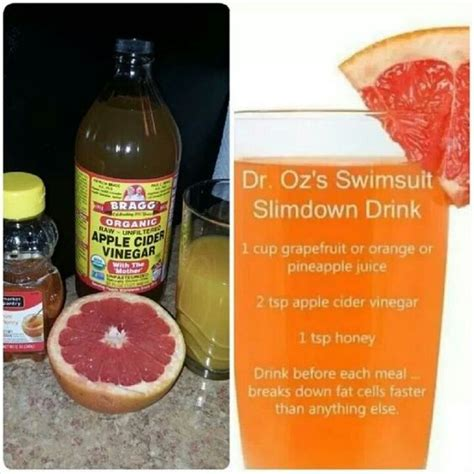Dr Oz 7 Day Grapefruit Detox Plan by Dr Oz Slim Drink Use After Two Weeks Dr Oz Two