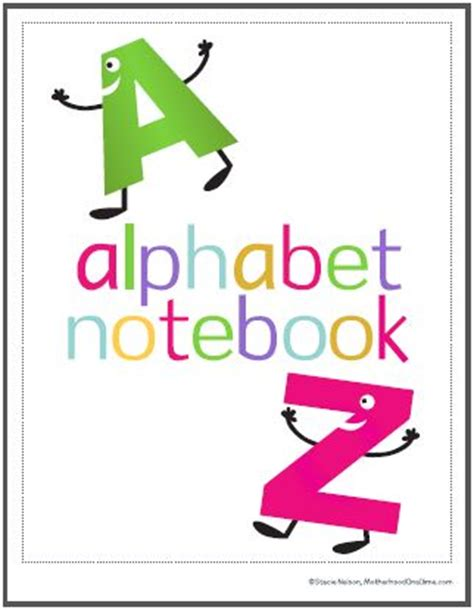 My Best Abc Alphabet Book 5 best images of printable alphabet book cover printable