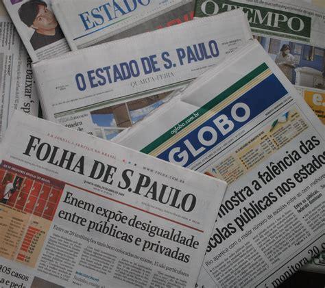 layout de jornal online as pessoas n 227 o l 234 em mais jornal impresso mas n 227 o confiam