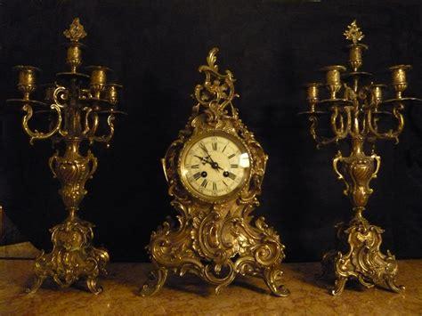 Rococo Chandelier Garniture De Chemin 233 E Style Louis Xv Rocaille Chimney
