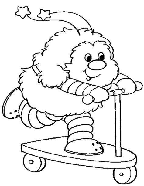 Rainbow Bright Coloring Pages Rainbow Brite Cartoons Coloring Home by Rainbow Bright Coloring Pages