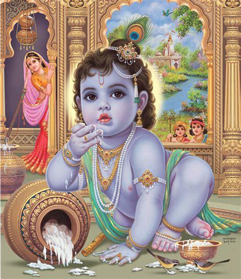 painting for babies baby krishna painting by vijayann rajasabai