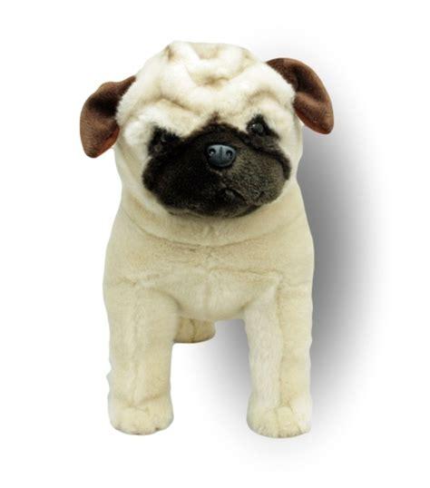 pug dog standing stuffed animal pugley cm soft plush