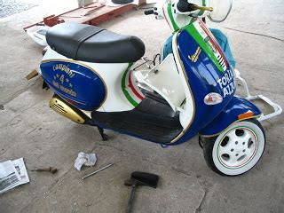Modifikasi Vespa Rasta by Motor Vespa Modifikasi Sespanvespa