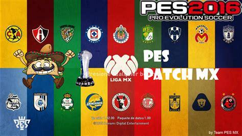 Patch All Liga liga bancomer mx 2016 pes2016 pc released pes free
