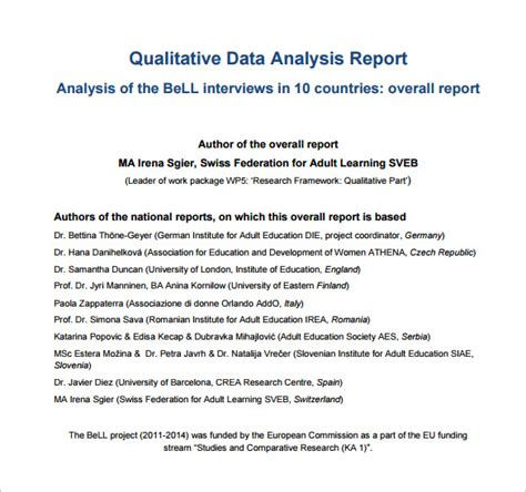 16 Analysis Templates Doc Pdf Excel Free Premium Templates Data Analysis Report Template Excel