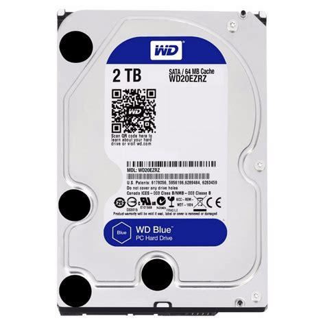 Blue Tb wd blue 2tb 3 5 quot sata 3 discos duros