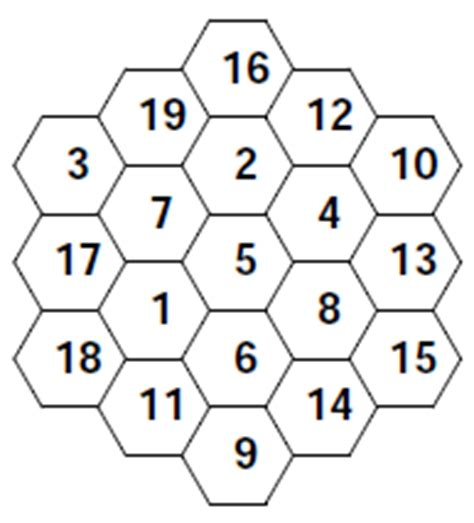 printable hexagon puzzle magic hexagon worksheets dr mike s math games for kids