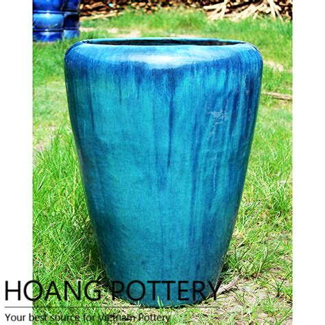 Cheap Outdoor Planters by Wholesale Glazed Ceramic Pots Garden Hpvn011