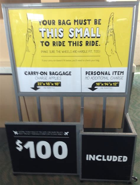 carry on fee spirit airlines baggage