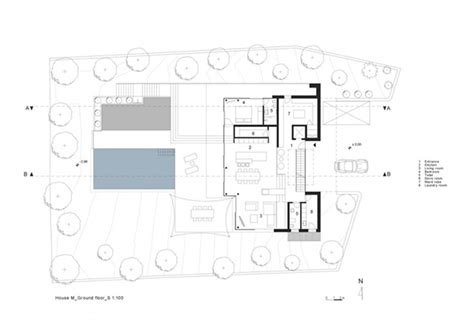 modern residential architecture floor plans modern residential house design a fine house m