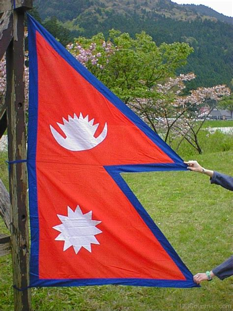 flags of the world nepal national flag of nepal 123countries com