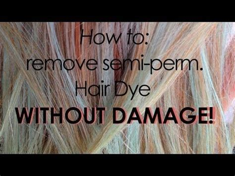 how to remove semi permanent hair color best 20 semi permanent hair dye ideas on semi