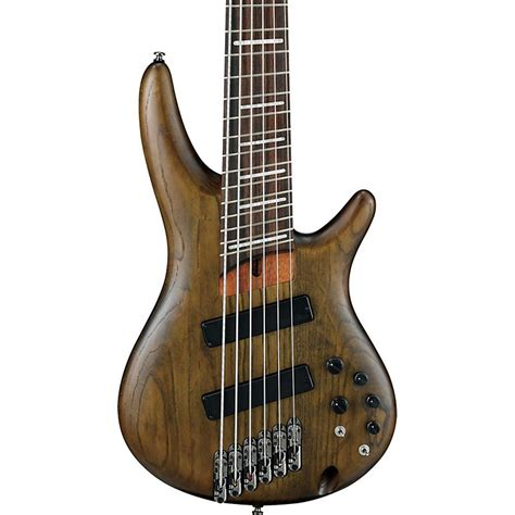 ibanez fanned fret bass 6 string ibanez srff806 fanned fret six string electric bass guitar