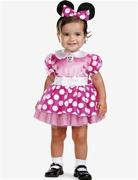 Dress Jw 13 Minnie Mouse D 2 pc pink minnie mouse costume set baby stage stores