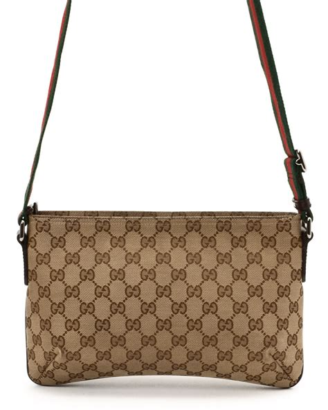 G Ci Bag 1660 gucci crossbody in beige lyst