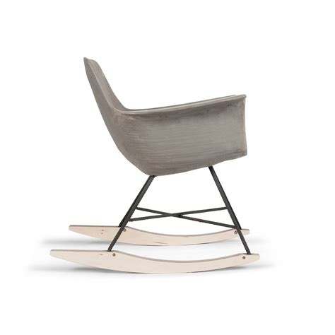 Concrete Chair by Hauteville Rocking Chair Lyon B 233 Ton
