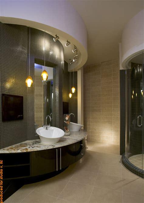 luxury master suite contemporary bathroom