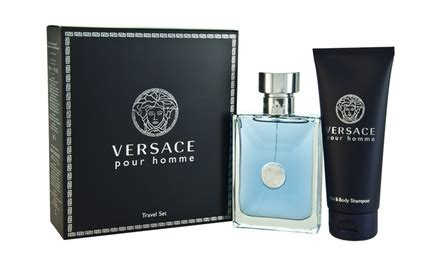 Parfum Odessa versace pour homme fragrance shower gel deal of the day groupon