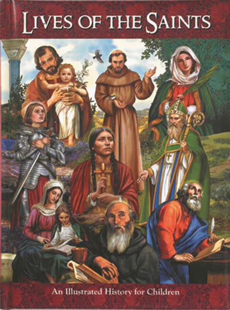 picture book of saints lives of the saints for children books