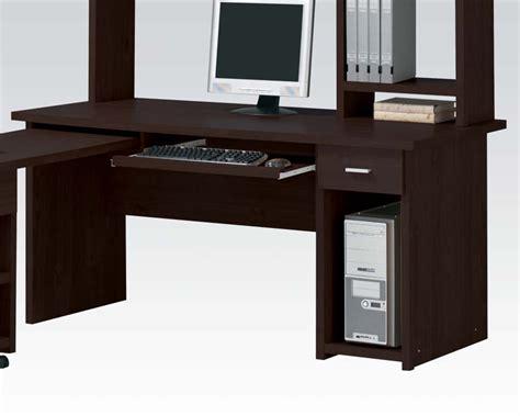 Computer Desk Espresso Computer Desk In Espresso By Acme Furniture Ac04692