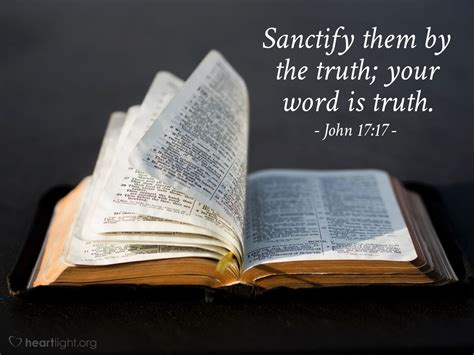 sanctify them by the truth your word is truth amen www