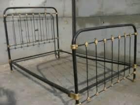 Three Quarter Bed Frames Uk Cast Iron Frame Three Quarter Bed With Side