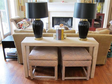 Console Table Behind Couch : Home Design   Finding The