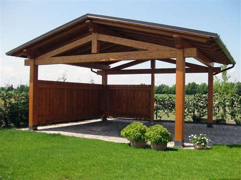 tettoia legno tettoia in legno per cer