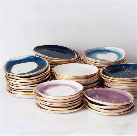 Handmade Porcelain Dinnerware - 25 best ideas about ceramic plates on pottery