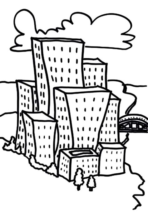 apartment coloring page cartoon city apartment coloring pages best place to color