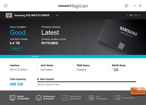 Samsung Magician Samsung 860 Evo 500gb Sata Ssd Review Legit Reviewssamsung 860 Evo Aims For Sata Iii