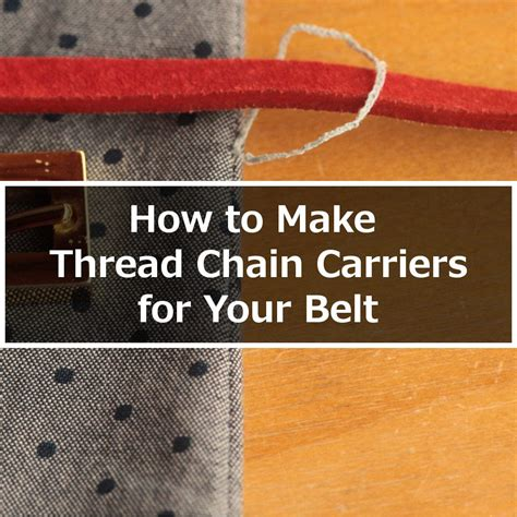 how to make chain how to make thread chain carriers itch to stitch