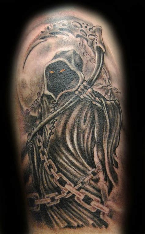 tattoo gallery north olmsted ohio grim reaper by ross lloyd tattoonow