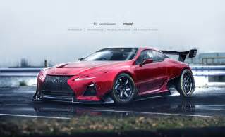 lexus flagship coupe lc 500 treated to racecar livery