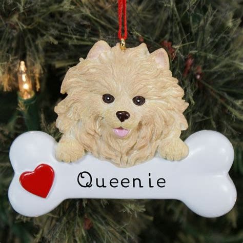 pomeranian ornament engraved pomeranian ornament pomeranian ornament