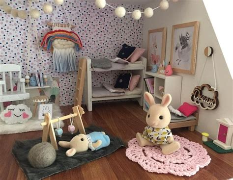 calico critters doll house the 25 best ideas about sylvanian families on pinterest calico critters families diy