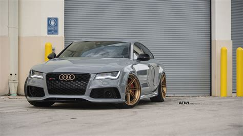 porsche nardo grey nardo gray audi rs7 adv07r track spec cs series wheels