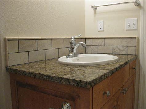 Backsplash For Bathroom Sink » Modern Home Design