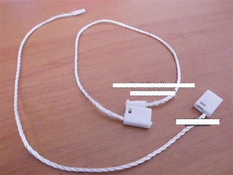 Kar Hang Tag Kotak tali hang tag warna putih kepala kotak