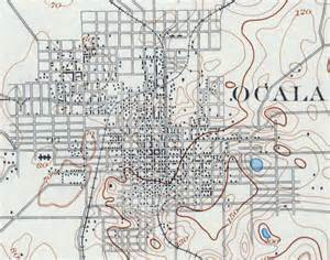 ocala florida map ocala 1895