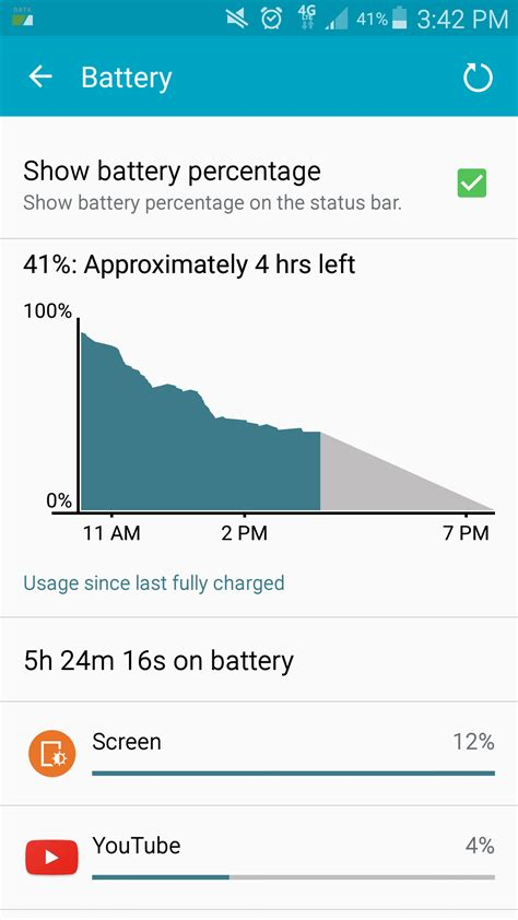 Reset Android Battery Statistics | samsung galaxy s6 edge problems and troubleshooting