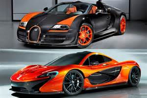 Mclaren Bugatti Bugatti Veyron Vs Mclaren P1