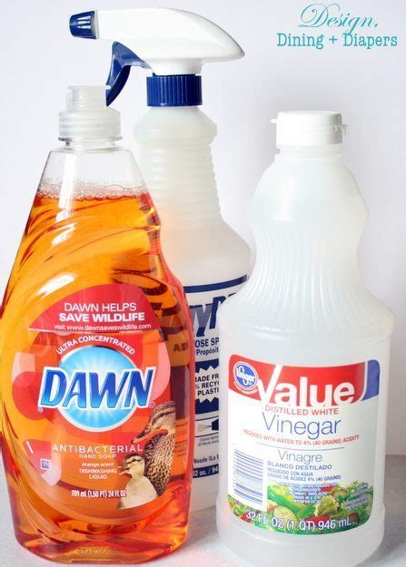 diy bathroom cleaner recipe pinterest cleaning tip tested diy dawn shower cleaner
