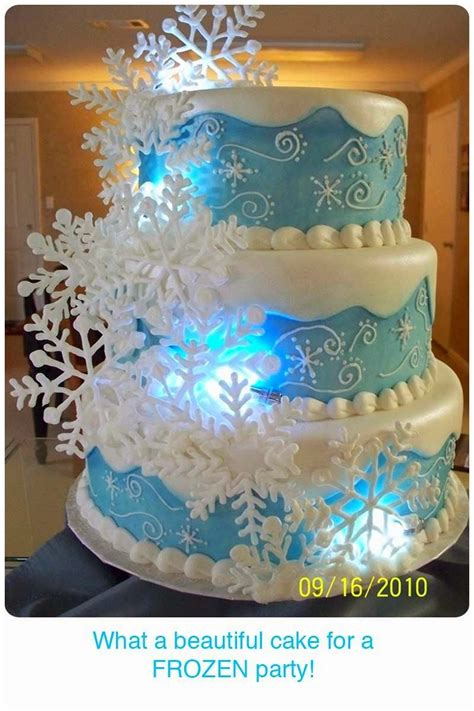 frozen themed party kelso love love love this winter themed cake for a disney
