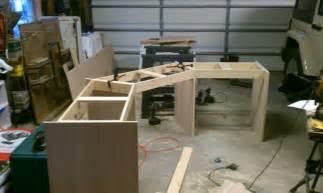 custom built desk log