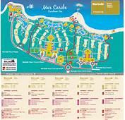 Riviera Maya Barcelo Beach Caribe Resort Mapjpg
