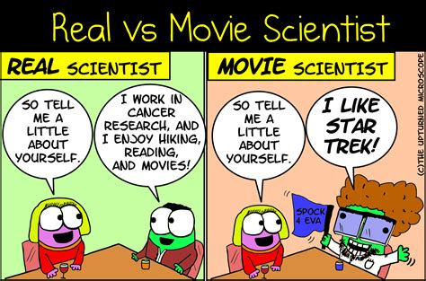 biography movie of scientist real vs movie scientist 7 the upturned microscope